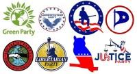 A sampler of third party logos.