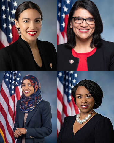 The Squad, prime proponents of the Green New Deal and the face of Democrats in Congress and now the Democrat abandonment of the Jews. Are these the most admired women in America?
