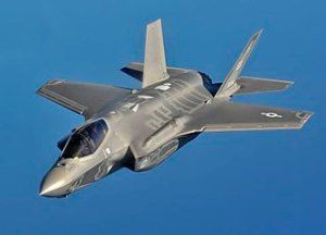 The F-35 Lightning II is a prize example of the reasons for a bloated military budget seemingly immune from cuts.
