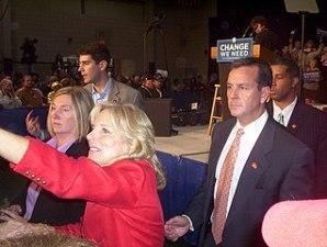 Jill Biden at a political event in Berkeley, Calif., in 2003