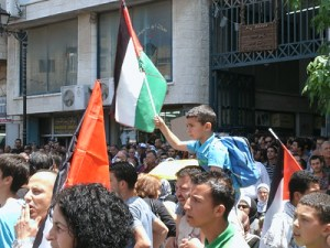 Does this little boy in Ramallah see himself as an eventual liberator? Will he become a terrorist instead?