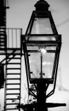 A gaslight on Boston's Beacon Hill Metaphor for gaslighting.
