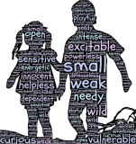 Children and the qualities that make them vulnerable to sexual offenders