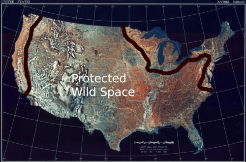 Another reason for Texit - how do Texans know the globalists don't plan a rewilding of all of Texas?