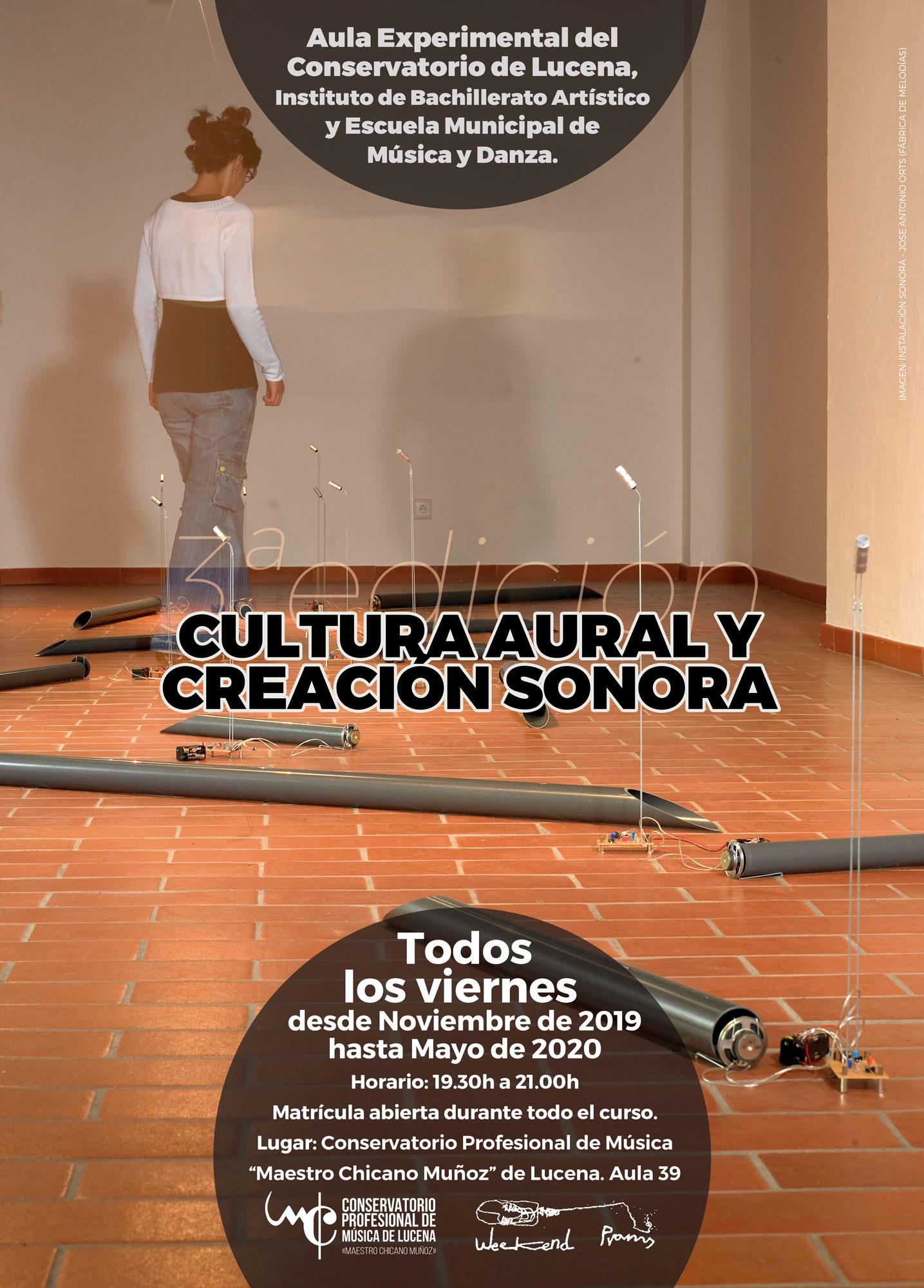 III Taller de Cultura Aural y Creación Sonora