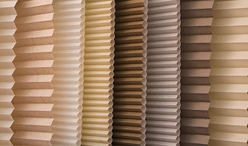 sliding door blinds from conservatory