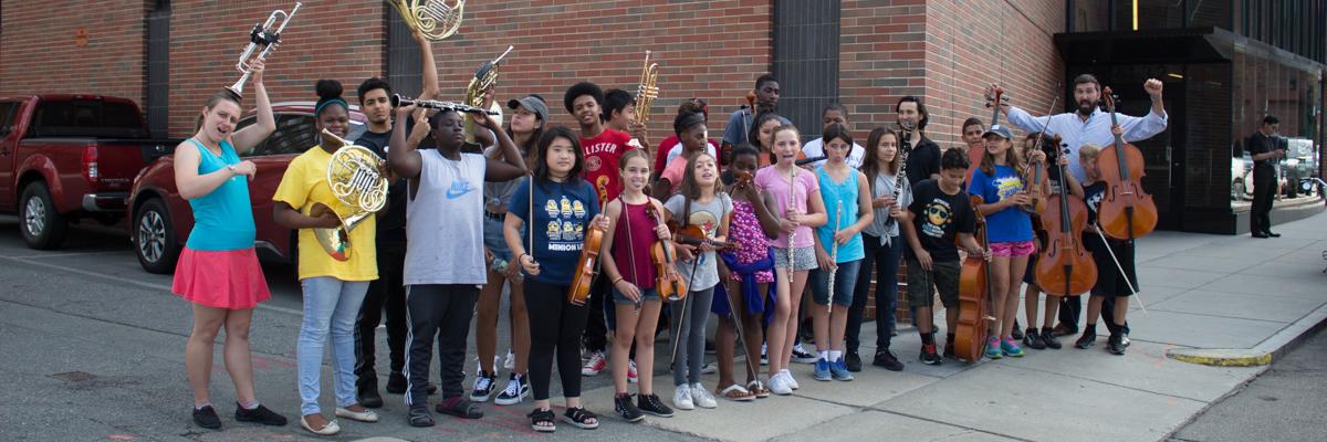 Conservatory Lab Dudamel Orchestra
