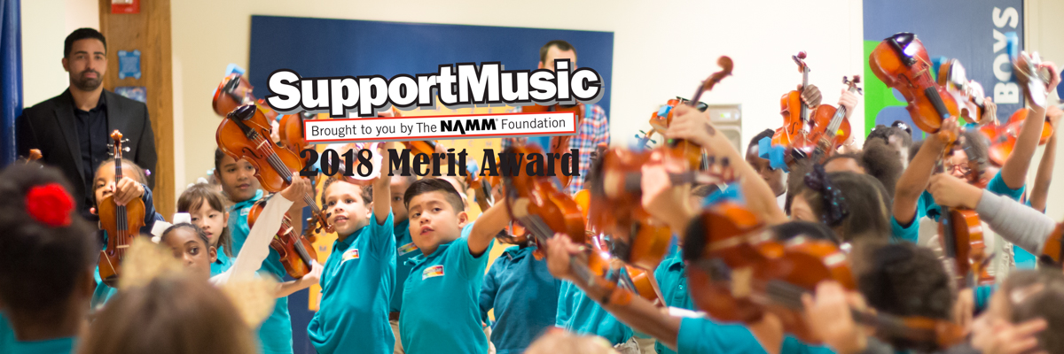 Conservatory Lab Receives NAMM Award
