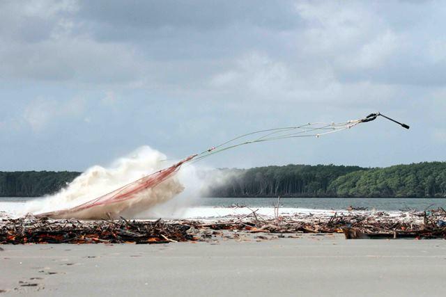 Environmental disturbance. Photo by Mark Peck.