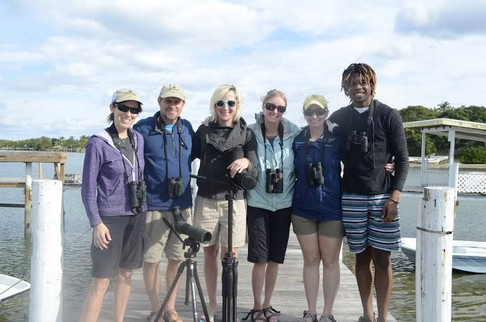 The CWF 2016 International Piping Plover Census team for Abaco and Eleuthera: Pam Prichard, Todd Pover, Stephanie Egger, Michelle Stantial, Emily Heiser, Brendan Toote (left to right).