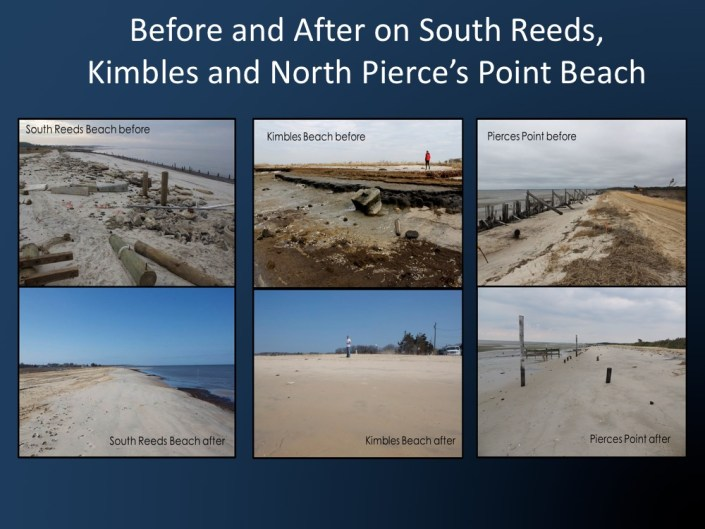 restored beaches