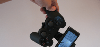 Cheap 'GameKlip' – mod your own PS3 controller adaptor for your phone