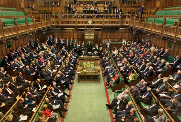 House of Commons debating