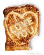 toast i love you