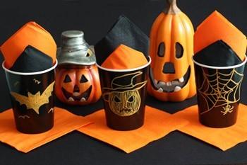bicchieri decorati per halloween