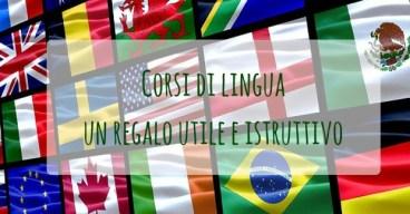 Corsi di lingua-un regalo utile e istruttivo