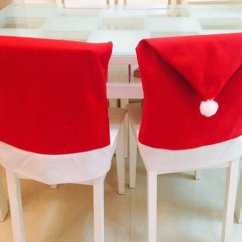 Kirklands Christmas Chair Covers Leather Wingback Uk 2pcs Of Santa Claus Free