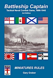 Battleship Captain, 3rd Ed. and Warship Counters (new from Minden Games)