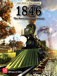 1846: The Race to the Midwest, 1846-1935 (new from GMT Games)