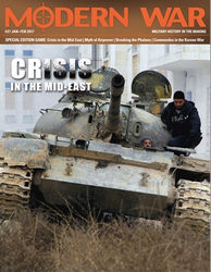 Modern War, Issue #27: Crisis in the Mid-East (new from Decision Games)
