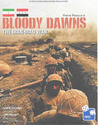 Bloody Dawns: The Iran-Iraq War (new from High Flying Dice Games)