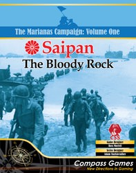 Saipan: The Bloody Rock (new from Compass Games)