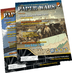 Paper Wars, Issue 85: Russia Falling (new from Compass Games)