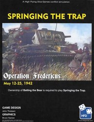 Springing the Trap (new from High Flying Dice Games)