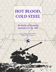 Hot Blood, Cold Steel: The Battle of Chawinda (new from High Flying Dice Games)