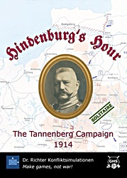 Hindenburg's Hour: The Tannenberg Campaign 1914 (new from Dr. Richter Konfliktsimulationen)