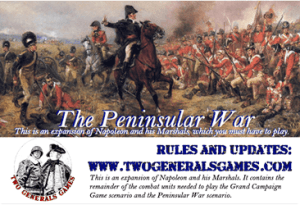 The Peninsular War Expansion (new from Two Generals Games)
