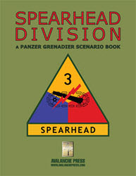 Panzer Grenadier: Spearhead Division Expansion (new from Avalanche Press)