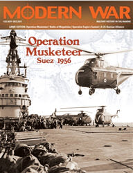 Modern War, Issue 32: Operation Musketeer (new from Decision Games)