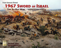 Panzer Grenadier: 1967, Sword of Israel (new from Avalanche Press)