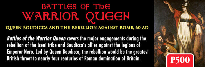 Battles of the Warrior Queen Module (new from GMT Games)
