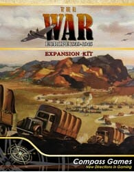 The War: Europe 1939-1945 Expansion Kit (new from Compass Games)