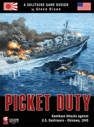 Picket Duty, 2nd Edition (new from Legion Wargames)