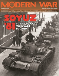 Modern War, Issue 38: Soyuz '81 (new from Decision Games)