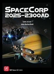SpaceCorp: 2025-2300 AD (new from GMT Games)