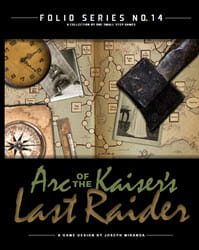 Arc of the Kaiser's Last Raider (new from One Small Step)