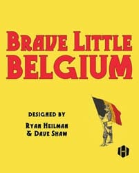 Brave Little Belgium (new from Hollandspiele)