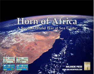 Second World War at Sea: Horn of Africa (new from Avalanche Press)