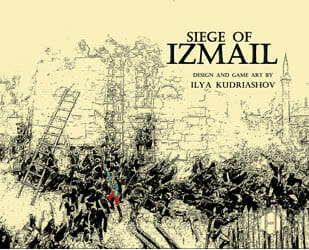 Siege of Izmail (new from Hollandspiele)