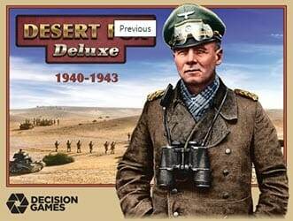 Desert Fox Deluxe (new from Decision Games)