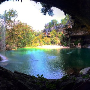 Hamilton Pool Preserve in Austin Texas