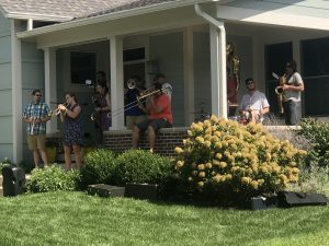 Porchfest in Carmel Indiana