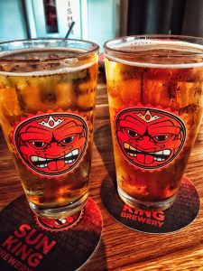 Local brews for Sun King in Hamilton County Indiana