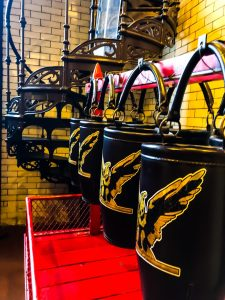 Cincinnati Fire Museum: Leather Water Buckets