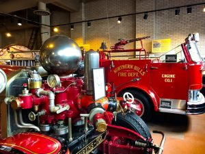Antique Fire Engines at the Cincinnati Fire Museum