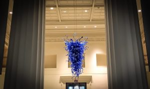 Art After Dark: Entrance To Cincinnati Art Museum